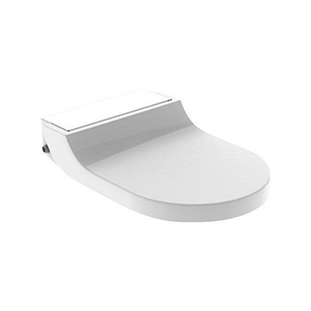 Geberit AquaClean Tuma Comfort toiletsæde (hvid glas)