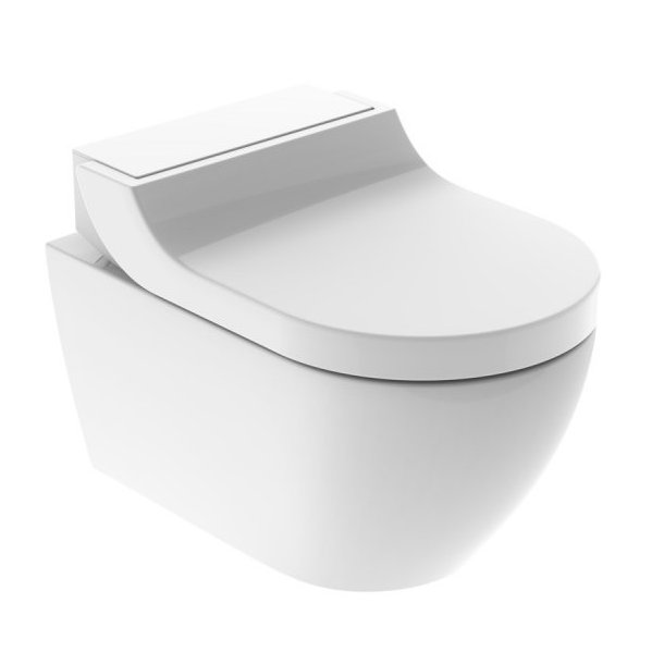 Geberit AquaClean Tuma Comfort inkl. skål (glas hvid)