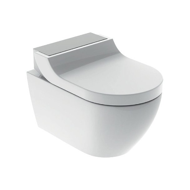 Geberit AquaClean Tuma Comfort inkl. skål (børstet stål)